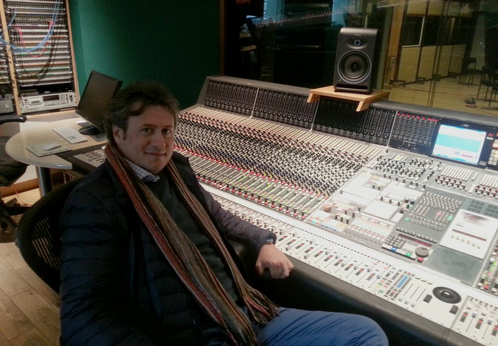 Francesco Digilio - Angel Recording Studios - London