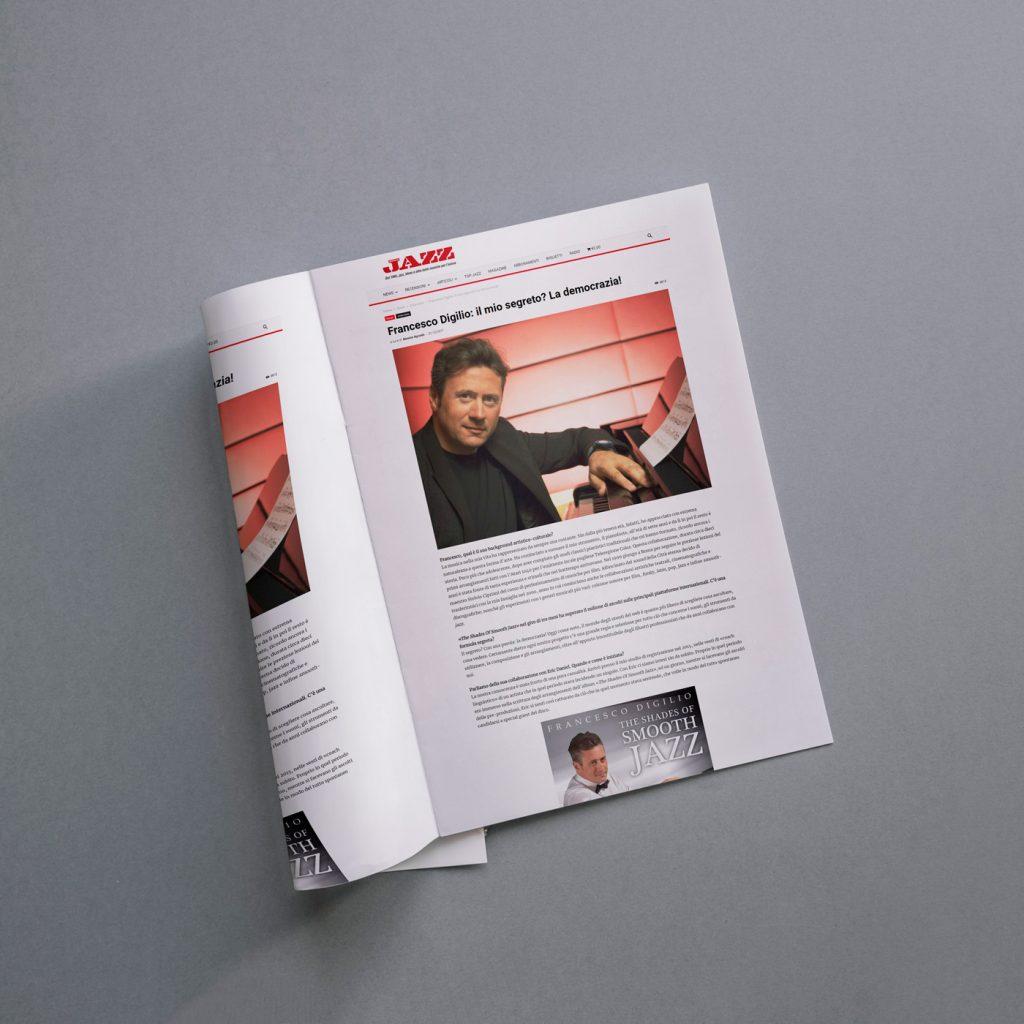 Intervista con Alceste Ayroldi del 21/12/2017 sulla rivista Musica Jazz